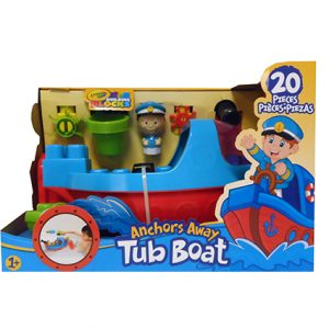 20PC ANCHORS AWAY TUB BOAT