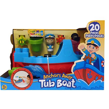 20PC ANCHORS AWAY TUB BOAT