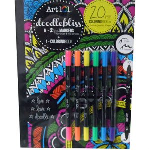 DOODLEBLISS JOURNAL/2 TIP MARKERS