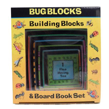 BUG BLOCKS & BOARD BOOK SET