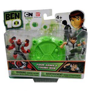"""BEN 10 2.5"""" ACTION HEROES"""