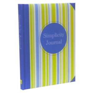 SIMPLICITY PADDED BOOK JOURNAL