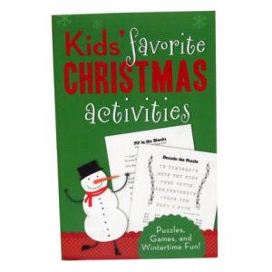 KIDS CHRISTMAS ACTIVITIES BOOK