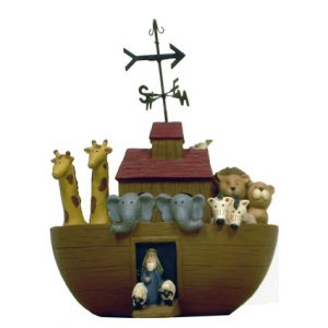 NOAH'S ARK W/ WEATHER VANE