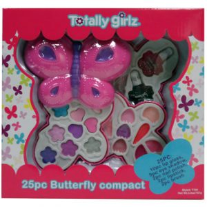 25PC BUTTERFLY COSMETIC COMPACT