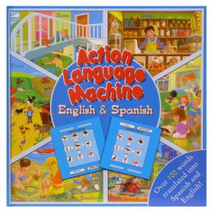 ACTION LANGUAGE ENG & SP TRANSLATION BOOK