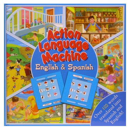 ACTION LANGUAGE ENG & SP TRANSLATION BOOK