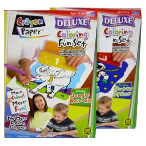 CRAYON PAPER DELUXE FUN SET