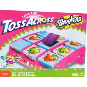 SHOPKINS TABLETOP TOSS ACROSS GAME