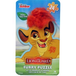 LION GUARD PUZZLE IN TIN