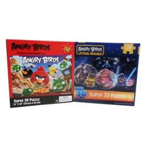ANGRY BIRD / STAR WARS PUZZLES