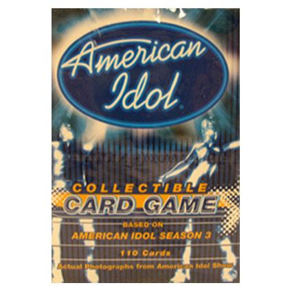 AMERICAN IDOL CARD GAME