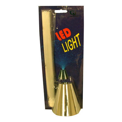 BLUE LED FIBER LAMP