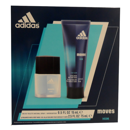 ADIDAS MOVES FOR HIM 2PC SET