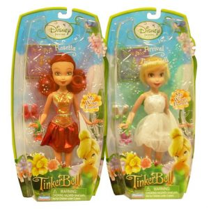 "10"" DISNEY FAIRIES DOLL ASST"
