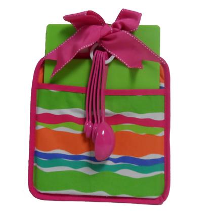 Multi Color Wave Design Kitchen Essentials