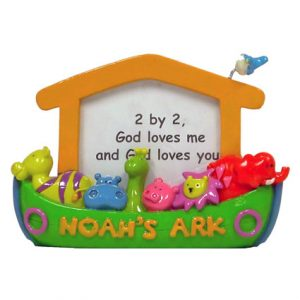 NOAHS ARK 2 BY 2 PICTURE FRAME