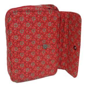 QUILTED BIBLE COVER LRG