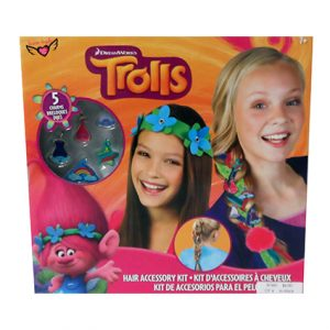 TROLLS HAIR ACCESSORY KIT