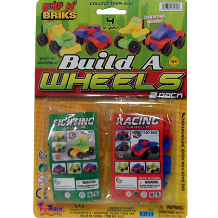 BUILD A WHEELS 2PK VEHICLES