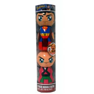 2PK BUBBLE BATH SUPERHERO ASST