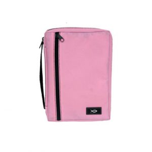 PINK CANVAS BIBLE COVER