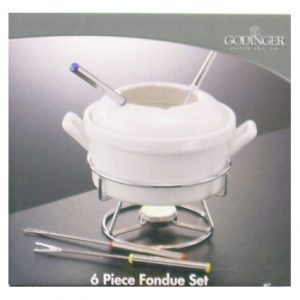 6PC FONDUE SET