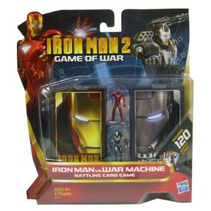 IRON MAN 2 BATTLE CARDS W/ FIG