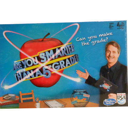 ARE YOU SMARTER THAN A 5TH GRADER GAME