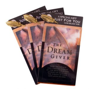 THE DREAM GIVER CARD/LAPEL PIN
