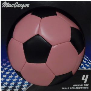 GAME WINNER SOCCER BALL #4-PINK