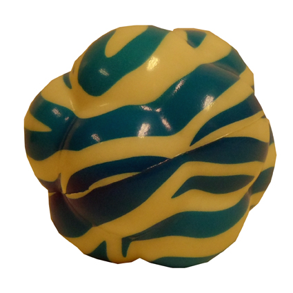 76MM 12 LOBE STRIPED BOZAGGA BALL