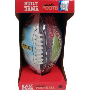 ALABAMA BOXED FOOTBALL