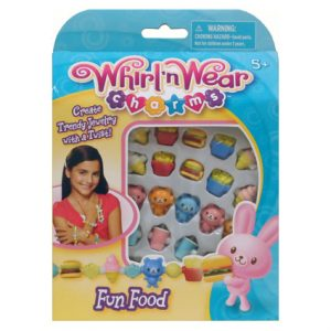 WHIRL'N WEAR CHARMS - FOOD