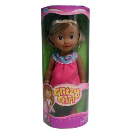 """12"""" GLITZY GIRL DOLL- HISP"""