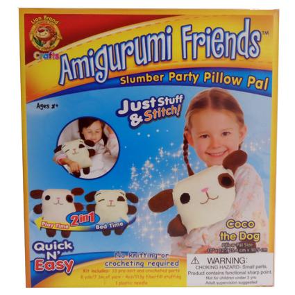 AMIGURUMI PILLOW- COCO THE DOG
