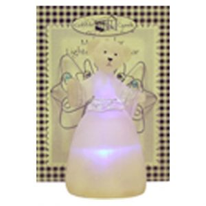 MULTI COLORED LIGHTED ANGEL