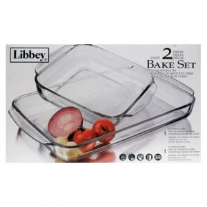 2PC GLASS BAKE SET