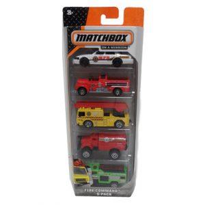 MATCHBOX 5 PACK CARS