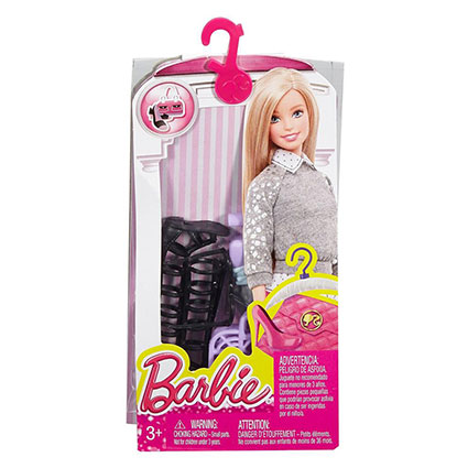 BARBIE FASHION PACKS ASST