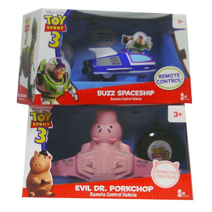 Toy Story 3 R C Vehicle Asst