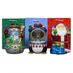MUSICAL CHRISTMAS GIFT W/ BAGS