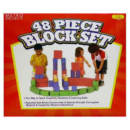 48PC BLOCK SET
