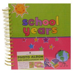 SCHOOL YEARS PHOTO ALBUM