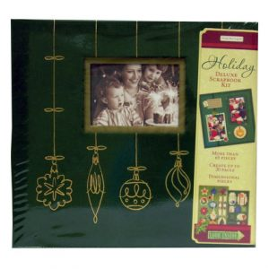 HOLIDAY DELUXE SCRAPBOOK KIT