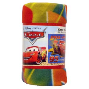 CARS FLEECE THROW