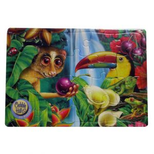 RAINFOREST CHERRY TRAY PUZZLE 20PC
