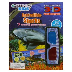 DISCOVERY KIDS 3D DISCOVERY BOOK ASST