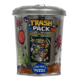 TRASH PACK PUZZLE IN GARBAGE CAN