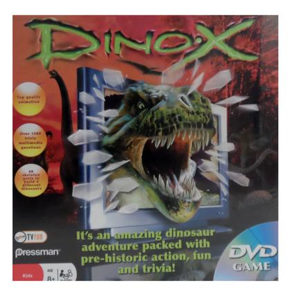 DINO-X DVD GAME